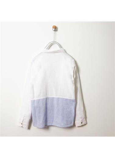 Panço Uzun Kollu Gömlek 19112000100 Beyaz